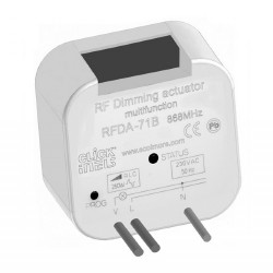 Click iNELS RFDA-71B RF 40-250VA 1 Channel Multifunctional Dimming Actuator (Box Mount)