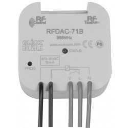 Click iNELS RFDAC-71B RF 1-10V 16A 1 Channel Multifunctional Switching Actuator with Analogue Output