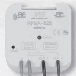Click iNELS RFSA-62B RF 2 Channel 8A Multifunctional Switching Actuator