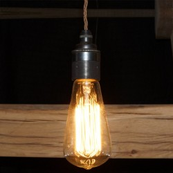 Squirrel Cage Lamp 240v 40w Bayonet Cap