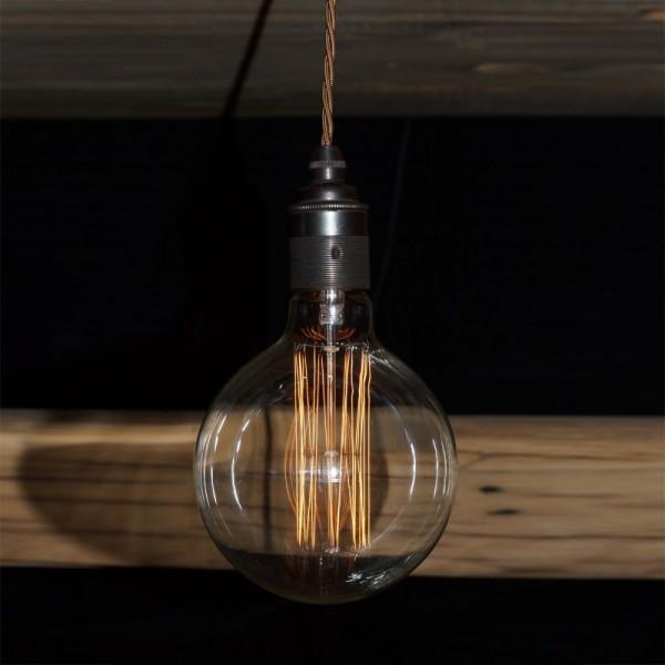 Home Lighting Large 125mm Globe Filament Light Lamp 240v
