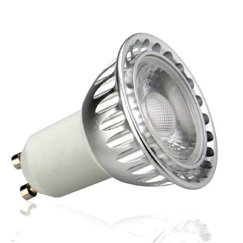 auraled gu10 5w 240v cool white led lamp at uk electrical supplies. Black Bedroom Furniture Sets. Home Design Ideas