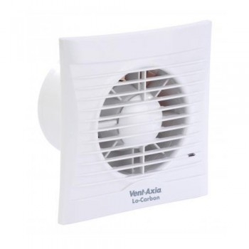 Vent-Axia 446485 Lo-Carbon Silhouette 125HT Timer/Humidistat