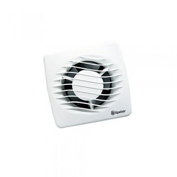 Xpelair DX100 Axial 12W Bathroom Fan 4 inch (100mm) Standard model