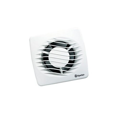 Xpelair Extractor Fans For Bathrooms: Xpelair DX100PC Axial 4 Inch (100mm) With Pullcord