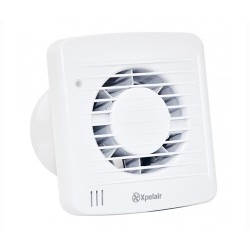 Xpelair SL100HT AC Axial Fan With Humidistat & Timer