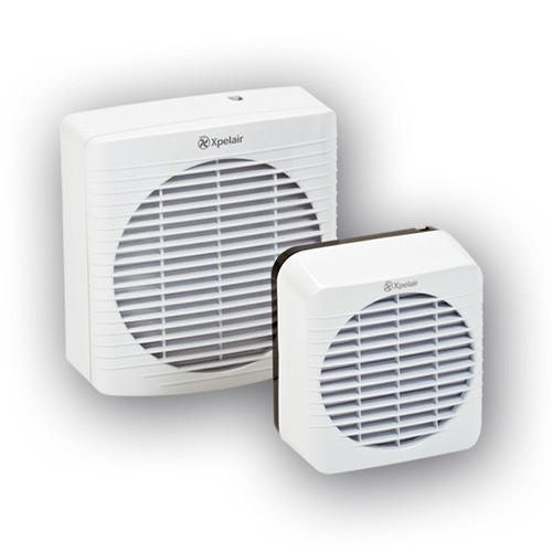 Xpelair Extractor Fans For Bathrooms: Xpelair GXC6 6 Inch Single Speed Axial Kitchen Extract Fan