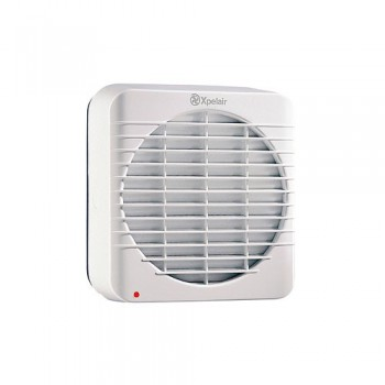 Xpelair GXC6T 6 inch Single Speed Axial Kitchen Extract Fan With Pullcord And Timer