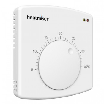 Heatmiser DS1 Central Heating Dial Thermostat