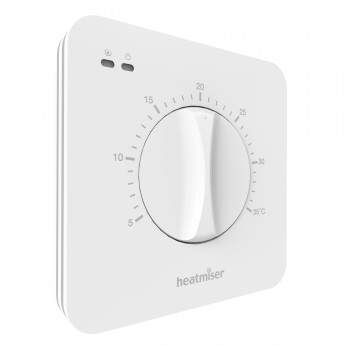 Heatmiser DS-SB Central Heating Dial Thermostat with Set Back Function