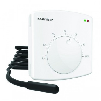 Heatmiser DS1-E Central and Underfloor Heating Dial Thermostat