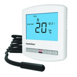 Heatmiser PRT-E Slimline Programmable Underfloor and Central Heating Thermostat