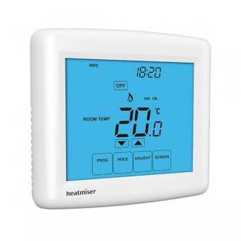 Heatmiser PRT-TS Touchscreen Programmable Central Heating Thermostat