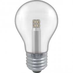 Crompton Lamps Manor Range LED Warm White Clear Glass 5W GLS Light Bulb - Edison Screw