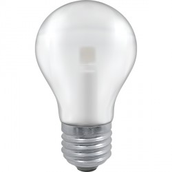 Crompton Lamps Manor Range LED Warm White Satin Glass 5W GLS Light Bulb - Edison Screw