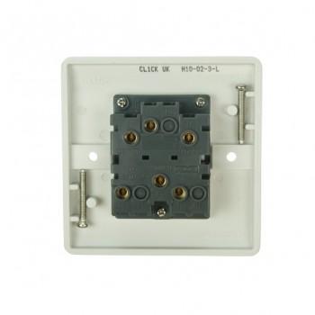 Click Mode 10amp White PVC Fan Isolator