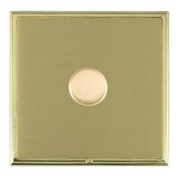 Hamilton Linea-Scala CFX Polished Brass/Satin Brass 1 Gang 100W Intelligent LED Dimmer