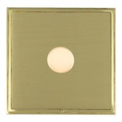Hamilton Linea-Scala CFX Satin Brass/Satin Brass 1 Gang 100W Intelligent LED Dimmer