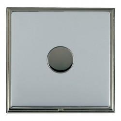 Hamilton Linea-Scala CFX Black Nickel/Bright Steel 1 Gang 100W Intelligent LED Dimmer