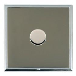 Hamilton Linea-Scala CFX Bright Chrome/Black Nickel 1 Gang 100W Intelligent LED Dimmer