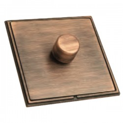 Hamilton Linea-Scala CFX Copper Bronze/Copper Bronze 1 Gang 100W Intelligent LED Dimmer