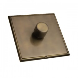 Hamilton Linea-Scala CFX Connaught Bronze/Connaught Bronze 1 Gang 100W Intelligent LED Dimmer