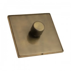 Hamilton Linea-Duo CFX Connaught Bronze/Connaught Bronze 1 Gang 100W Intelligent LED Dimmer