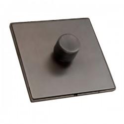 Hamilton Linea-Duo CFX Etrium Bronze/Etrium Bronze 1 Gang 100W Intelligent LED Dimmer