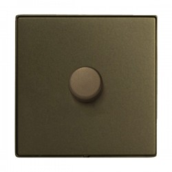 Hamilton Linea-Duo CFX Richmond Bronze/Richmond Bronze 1 Gang 100W Intelligent LED Dimmer