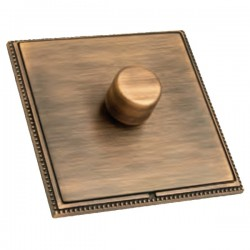 Hamilton Linea-Perlina CFX Copper Bronze/Copper Bronze 1 Gang 100W Intelligent LED Dimmer