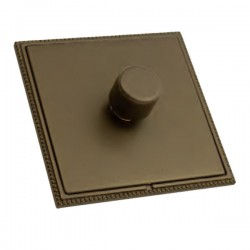 Hamilton Linea-Perlina CFX Richmond Bronze/Richmond Bronze 1 Gang 100W Intelligent LED Dimmer