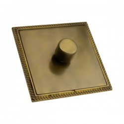 Hamilton Linea-Georgian CFX Connaught Bronze/Connaught Bronze 1 Gang 100W Intelligent LED Dimmer