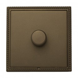 Hamilton Linea-Georgian CFX Richmond Bronze/Richmond Bronze 1 Gang 100W Intelligent LED Dimmer