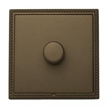 Hamilton Linea-Georgian CFX Richmond Bronze/Richmond Bronze 1 Gang 100W Intelligent LED Dimmer