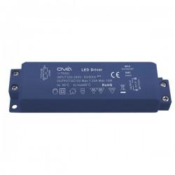 Ovia 12V 0.5-15W DC LED Driver