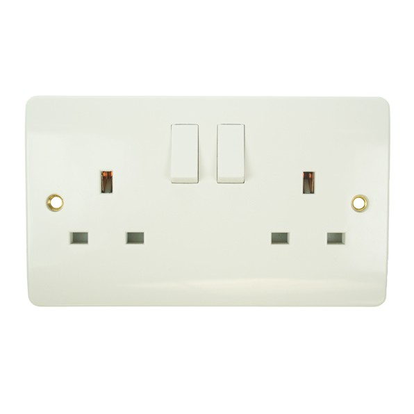 Click White PVC Switches and Sockets, Switch and Socket Supplier, UK ...