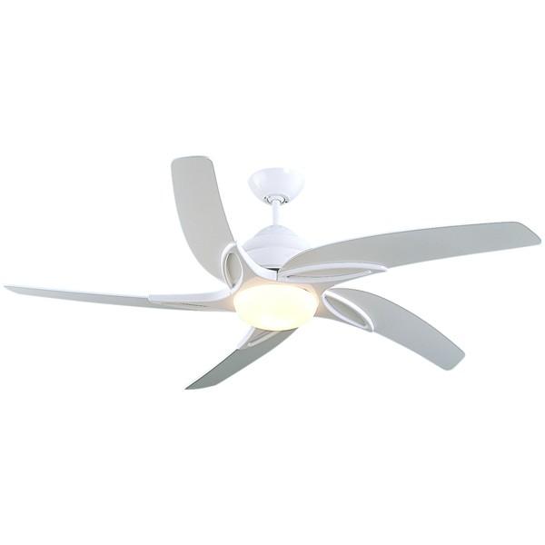 Remote Control White Ceiling Fan