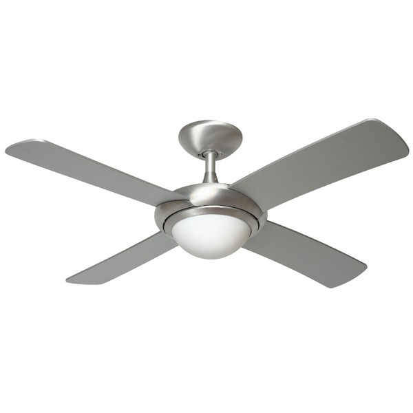 Fantasia orion 44 inch remote control brushed aluminium ceiling fan fantasia orion 44 inch remote control brushed aluminium ceiling fan with matt silver blades and light aloadofball Images