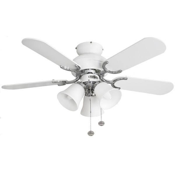 Fantasia capri 36 inch pull cord white and stainless steel ceiling fantasia capri 36 inch pull cord white and stainless steel ceiling fan with matt white blades and belmont light kit mozeypictures Images