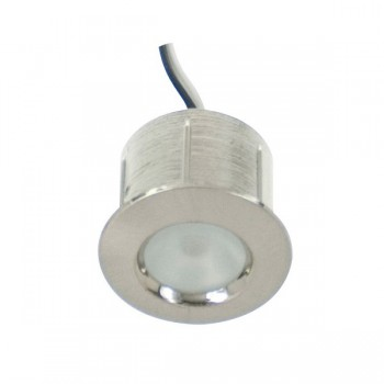 Click Ovia LED202WHSC 12V IP44 Cool White LED Satin Chrome Starlights