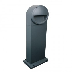 Click Ovia OL650GY 230V IP54 Grey Cast Holborn Bollards