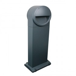 Ovia Holborn Double Sided Grey E27 Bollard