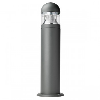 Ovia Leasowe Reflector Grey E27 Bollard