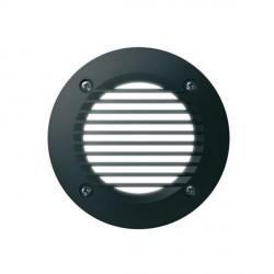 Fumagalli 2C2.G54.AY.LEDC 230V Cool White LED LETI Flush 100 Round Bricklight with Grill