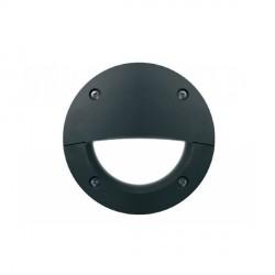 Fumagalli 2C3.G54.AY.LEDC 230V Cool White LED LETI Flush 100 Round Bricklight with Eyelid