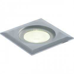 Collingwood Lighting GL016 SQ BLUE 1W Square LED Ground Light Blue