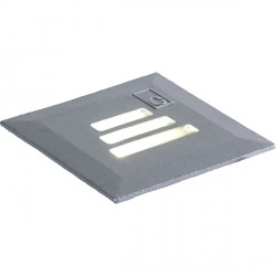 Collingwood Lighting GL022 BLUE Square 30 Degrees Slotted LED Ground Light Blue