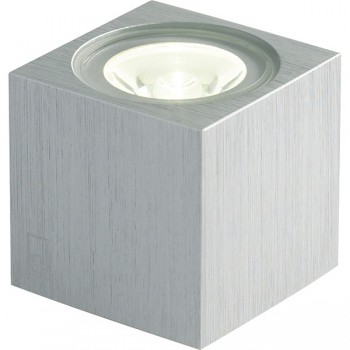 Collingwood Lighting MC010 S BLUE Mini Cube LED Wall Light Blue