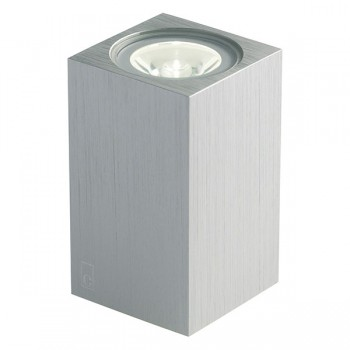 Collingwood Lighting MC020 S GREEN Up/Down Mini Cube LED Wall Light Green