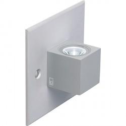 Collingwood Lighting MC015 S WW Straight To Mains Mini LED Cube Wall Light Warm White